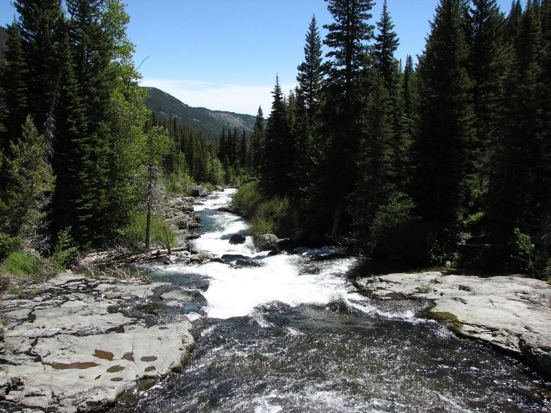 Big Timber Creek near Big Timber, MT