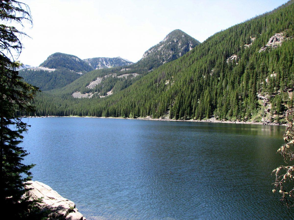 Lava Lake near Big Sky, Montana