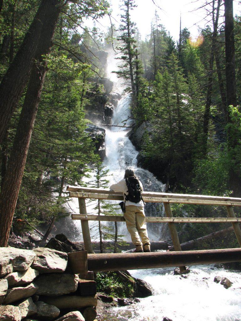 Photo of Pine Creek Falls near Livingston, MT