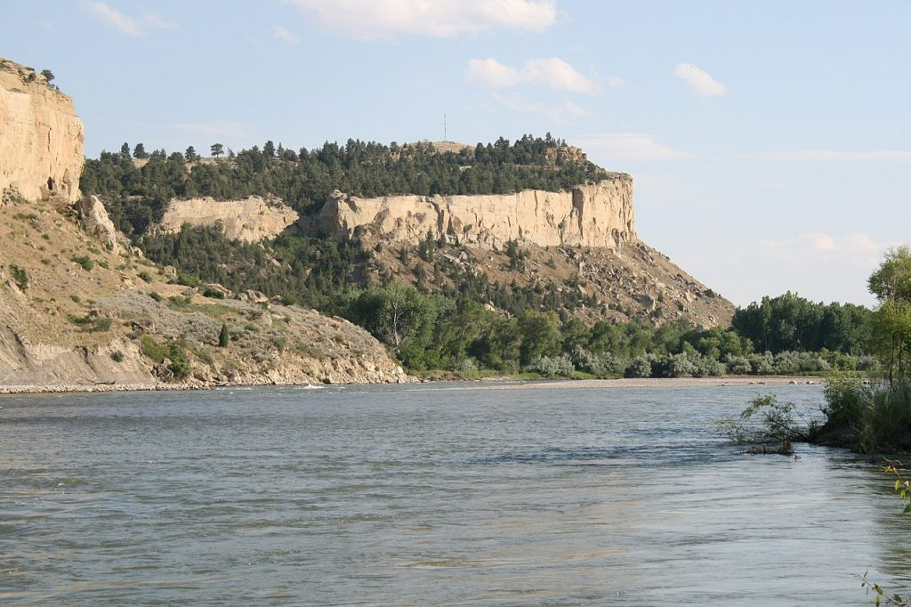 Yellowstone River near Billings, MT